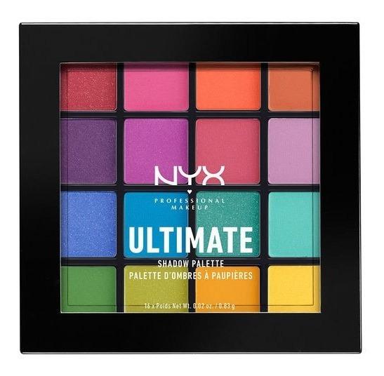 Paleta De Sombras Nyx Ultimate Shadow Palette Usp04 Brights