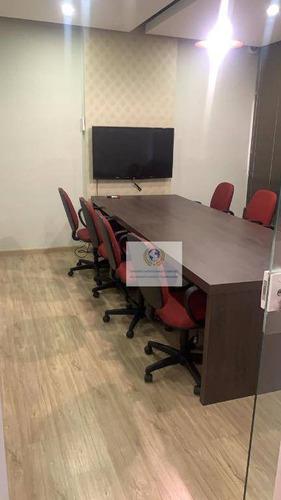 Imagem 1 de 3 de Sala Para Alugar, 25 M²  Mobiliada Por R$ 2.200/mês - Jardim Santa Genebra - Campinas/sp - Sa0037