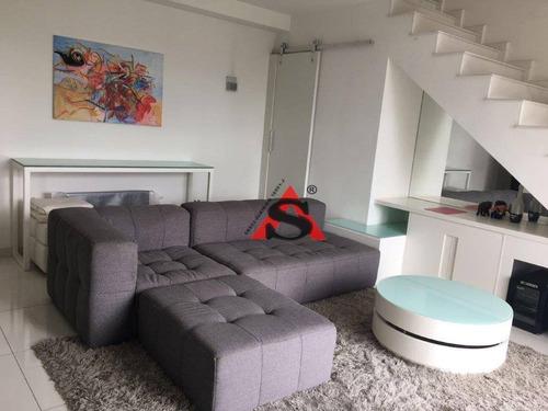 Imagem 1 de 21 de Apartamento Duplex Com 1 Dormitório À Venda, 78 M² Por R$ 1.200.000,00 - Vila Nova Conceição - São Paulo/sp - Ad0280