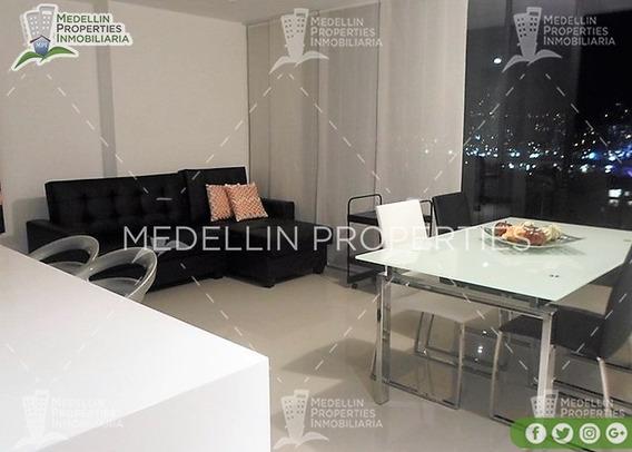 Barato Arriendo De Apartamentos Amoblados Medellín Cód: 4632