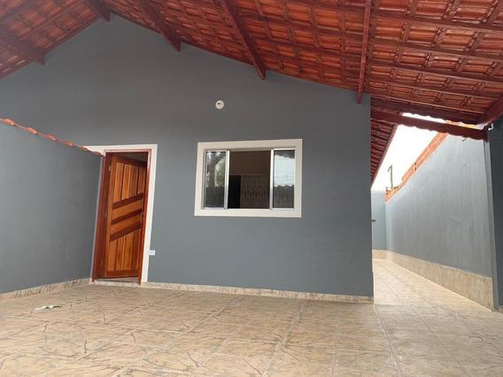 Casa Nova Simplesmente Linda Em Mongaguá