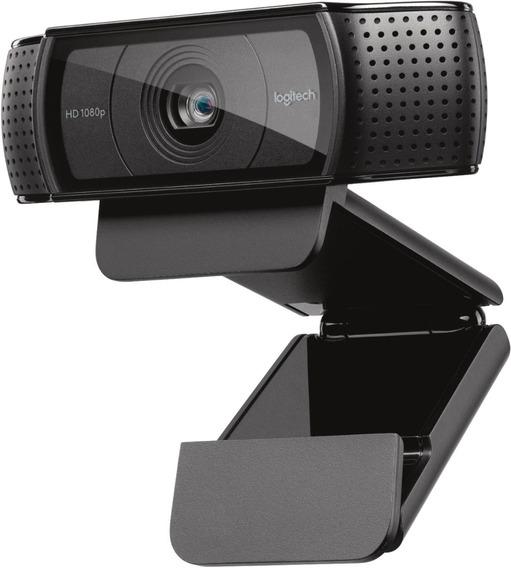 Webcam Live Youtube Escola Videoaula Logitech C920 1080p