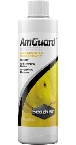 Neutralizador De Amoniaco Para Acuarios Amguard 250ml