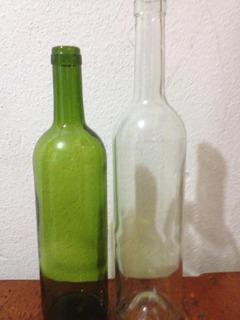 24 Botellas De Vidrio 750ml