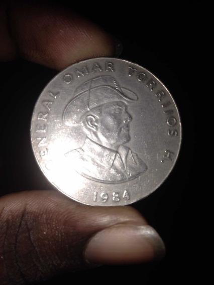 Moneda De Un Dólar De Omar Torrijos