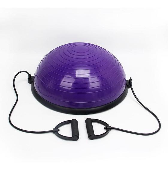 Meia Bola Roxo Pilates E Yoga Wct Fitness Funcional
