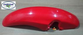 Paralamas Dianteiro Moto Nx 200 Vermelho 95 E 96 Sem Aba