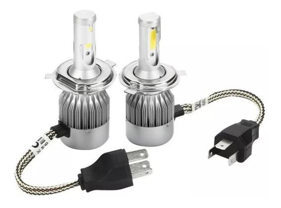 Lampada De Led Automotiva C6 H4 H7 6000k Universal