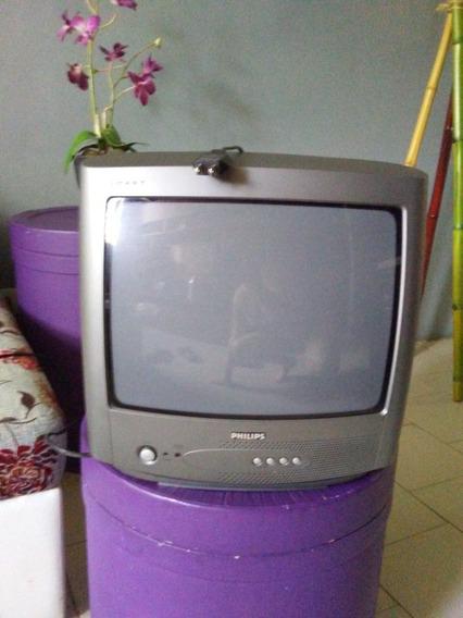 Tv Philips Culon 14 Con Su Control Perfecto Funcionamiento