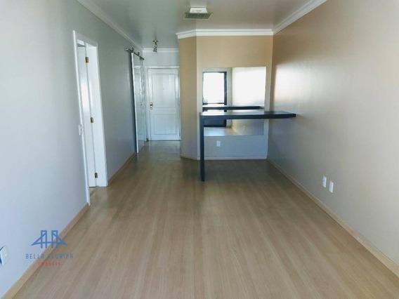 Apartamento Na Agronômica Com 2 Dormitórios (1 Suíte), Sacada, Dependência E 1 Vaga De Garagem - Ap2741