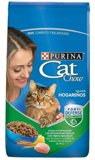 Cat Chow Adultos Hogareños X 3 Kg