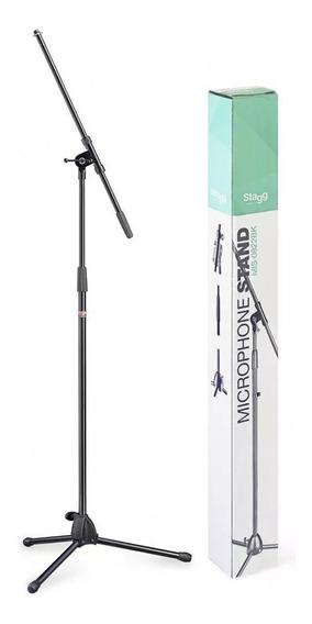 Pedestal Microfone Coral Stagg Mis 0822bk Suporte