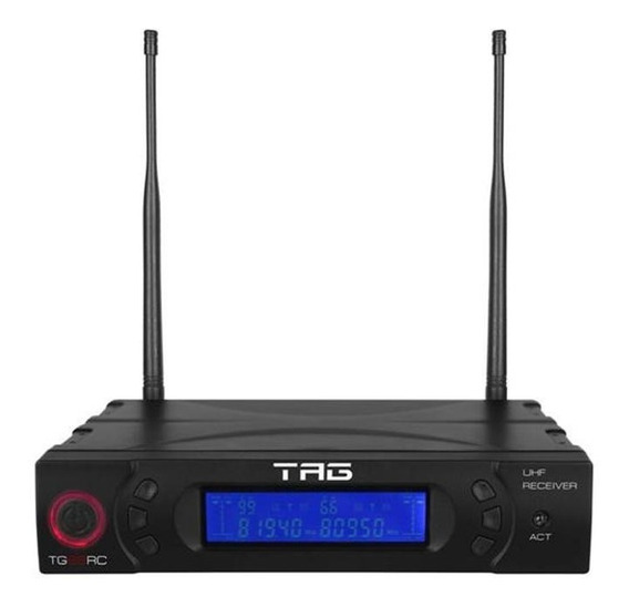 Receiver Digital 2 Canais Tg-88rc Freq Variavel Uhf