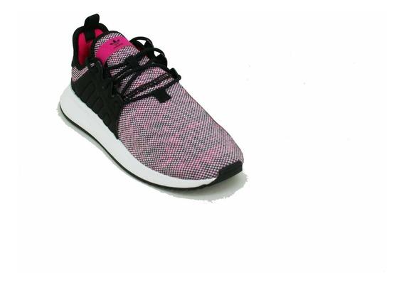 Zapatilla adidas Ori X_plr Rosa/negro Niña Deporfan