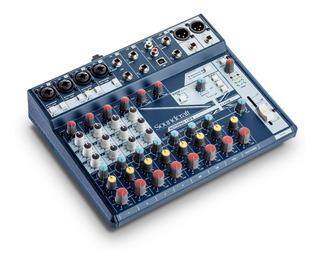 Placa Sonido Interface Consola Soundcraft Notepad 12fx Usb
