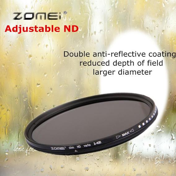 Zomei Filtro Circular, Nd Ajustável Densidade Neutra Nd2-400