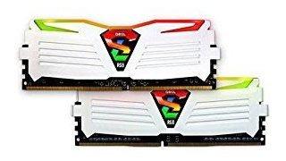 Memoria Ram 16gb Geil Super Luce Rgb Sync (2 X 8gb) 288-pin Ddr4 Sdram Ddr4 3000 (pc4 24000) Glws416gb3000c16adc