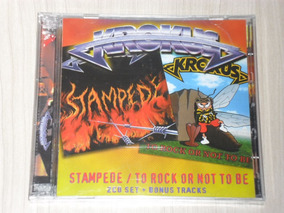 Cd Krokus - Stampede + To Rock Or Not To Be (duplo + Bônus)