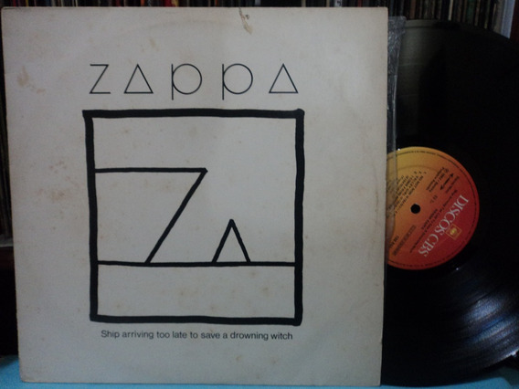 Lp-vinil:frank Zappa:ship Arriving Too Late To Save...rock