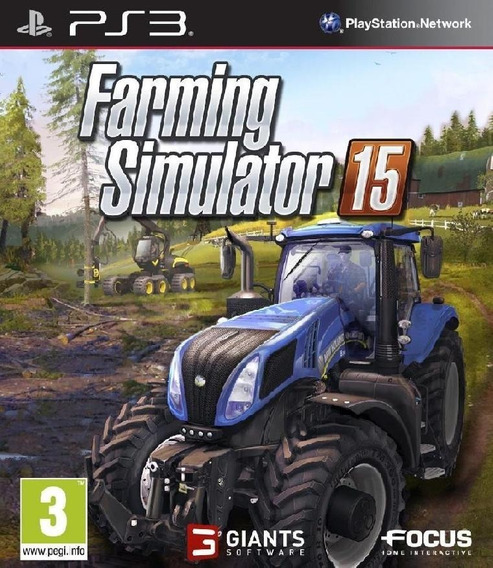 Farming Simulator 15 - Ps3 Mídia Digital
