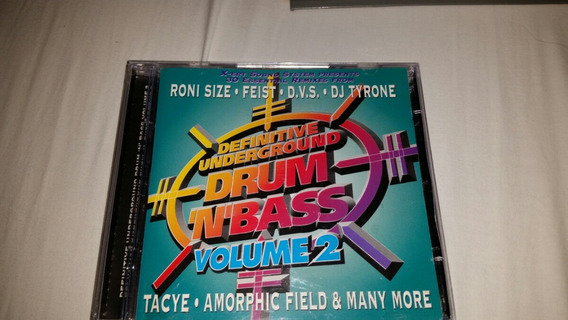 Cd The Definitive Drum And Bass Volume 2 Duplo Roni Seize Fe