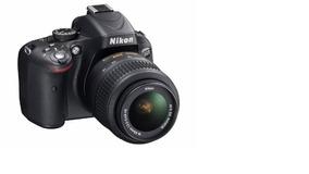 Camera Nikon D5100 Lente 18-55mm Full Hd Cartão 32gb