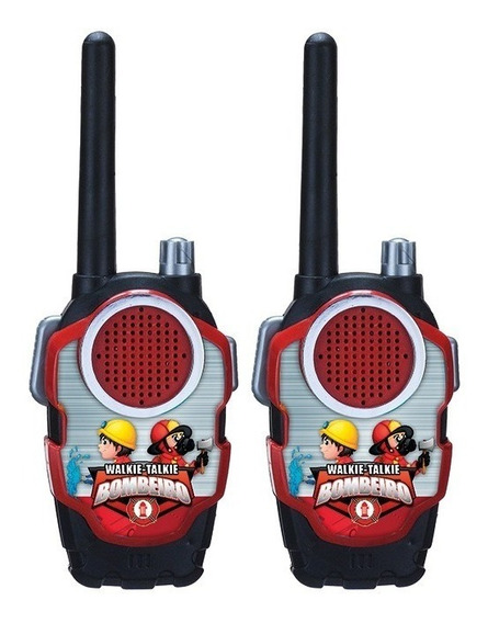 Rádio Comunicador Infantil Walk Talk Brinquedo Criança