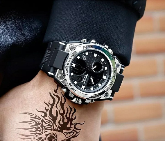 Relógio Sport Watch Resist New Sanda 738 *envio Imediato*