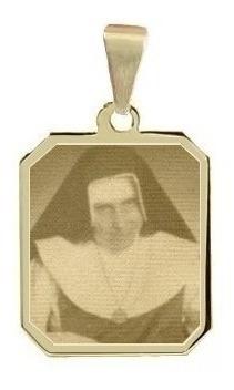 Pingente Folheado A Ouro Santa Irmã Dulce Saf02