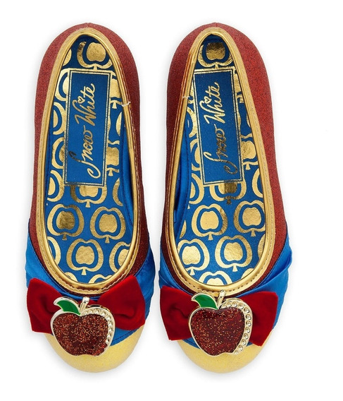 Sapato Princesa Fantasia Branca De Neve Disney Store Oficial