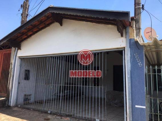 Casa Com 3 Dormitórios Para Alugar, 95 M² Por R$ 1.000/mês - Santa Terezinha - Piracicaba/sp - Ca2946