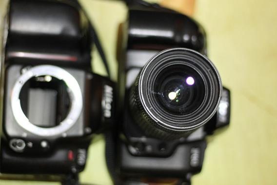 Duas Câmeras Analógicas [de Filme] Nikon F60/nikon F50+lente