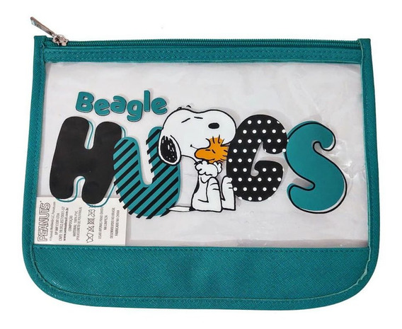 Necessaire Snoopy Sp3907 Verde