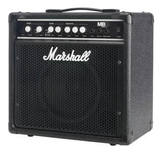 Amplificador Para Bajo Marshall 15w Mb15 Compresor