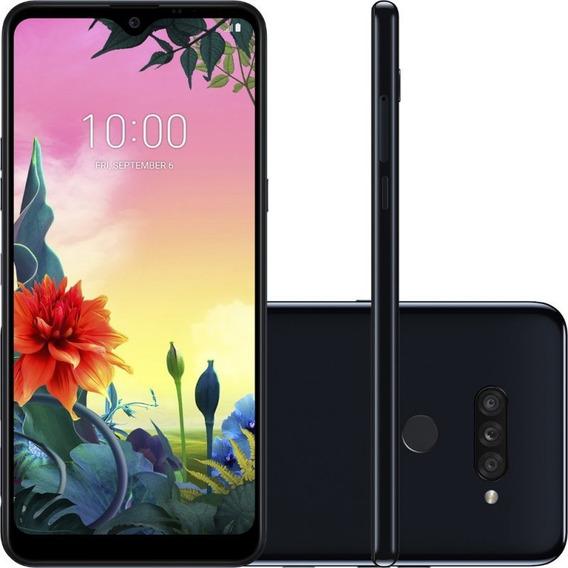 Celular LG K50s Preto 32gb 3gb De Ram Tela De 6,5 Octa Core