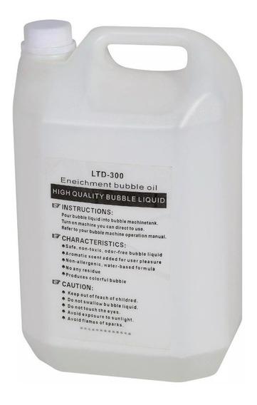 Liquido De Burbujas Para Maquina Galon 5l Importado Burbuja