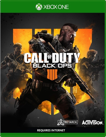 Call Of Duty Black Ops 4 Xbox One Mídia Física Novo Lacrado