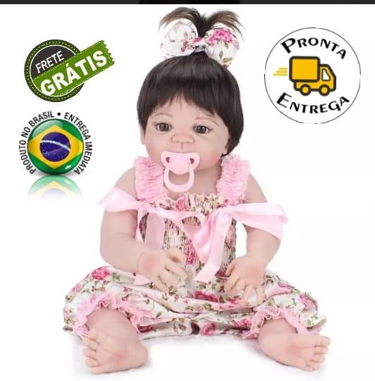 Bebe Reborn 53 Cm Original Estoque Em Sao Paulo