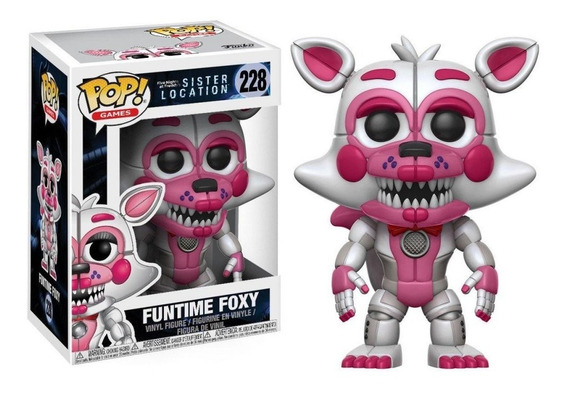 Funko Pop Funtime Foxy Five Nights At Freddy