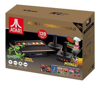 Consola Atari Clásica Flashback 9 Gold Portable 120 Juegoshd