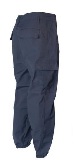 Pantalon Cargo Tactico Bonaerense Azul Ripstop