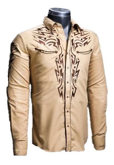 Camisa Rafael Amaya 081ca01 Vaquera Señor De Los Cielos