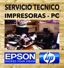 Reparacion Service Impresoras Epson Hp Sist Continuo