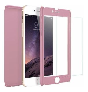 Funda iPhone Protector 360 5 Se 6 6s 7 8 Plus X Apple Case