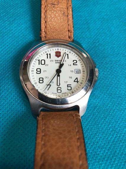 Reloj Swiss Army Mod. 24490 Con Cristal De Zafiro