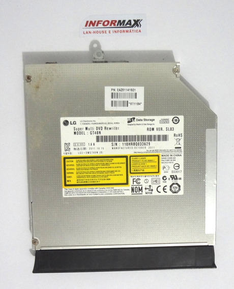 Gravador Dvd Gt40n Notebook Lg S425 C35