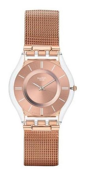 Relógio Swatch Hello Darling Feminino Sfp115m
