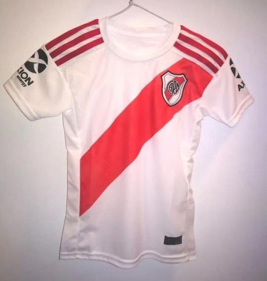 Camiseta Titular River Plate Niño Temporada 2019/2020.