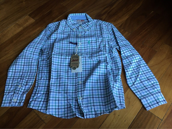 Camisa Sfera De Niño Talla 10 - 11 Nueva
