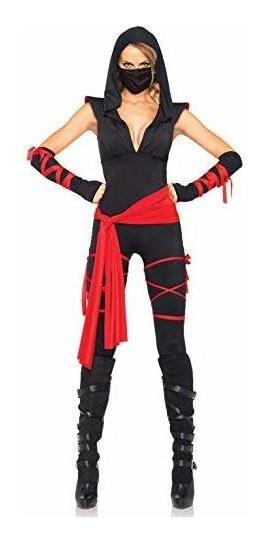 Disfraz Ninja Mortal Sexy Talla G D-004